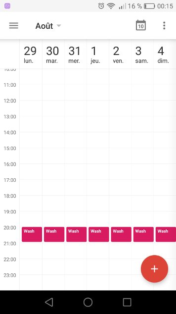 Use Google Calendar as a task manager