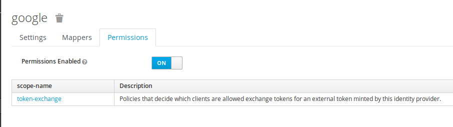 How to exchange token from an external provider to a